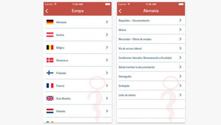 App para dentistas que buscan trabajo en el extranjero