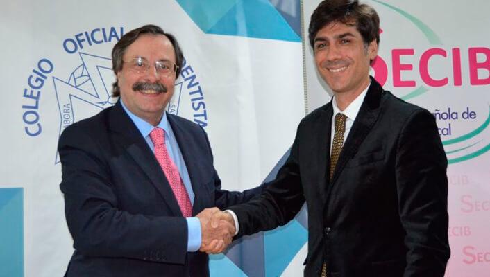Nuevos cursos congresos y seminarios por convenio entre SECIB y Colegio Dentistas de Sevilla