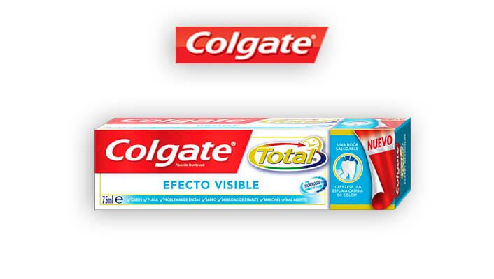 Colgate Total Efecto Visible